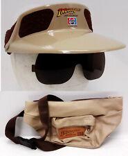 Vintage Indiana Jones Last Crusade Pepsi Promo Fanny Pack/Visor —> Set of 2