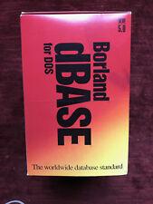 Borland dBase V 5 for DOS - Complete - Vintage Software - 5.0