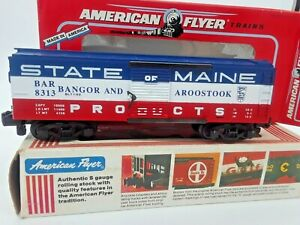 "1992- American Flyer ""Bangor & Aroostook"" Box Car-#48313 by Lionel. Read On"