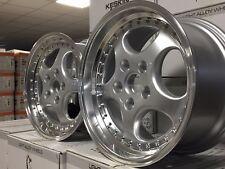 4 Alu  Keskin KT2 silber 8,5 und 9,5x18 Porsche 911 964 968 986 944 928 993 996