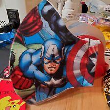 Marvel iron man Capt America, hulk, Thor Washable reusable face mask for kids
