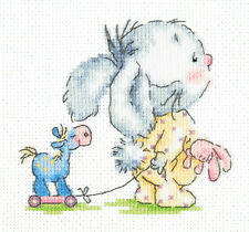 CROSS Stitch KIT vieni con me (BUNNY) ART. 19-09