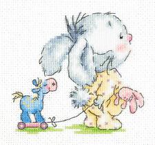 19-09 CROSS Stitch KIT vieni con me ART BUNNY