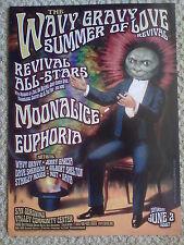 2007 Wavy Gravy Summer of Love Dead Dog Poster Moonalice Avalon Family Fillmore