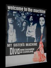 My Sister's Machine original 1992  in store promo poster!!! grunge
