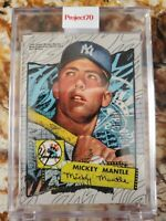 1952 Mickey Mantle Topps Project70® Card 100 - by Andrew Thiel NY Yankees Rookie