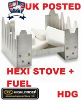 HEXEMINE HEXI STOVE/COOKER+ FUEL TABLETS=BUSHCRAFT SURVIVAL KIT CAMP ARMY TA SAS