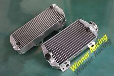 BRACED aluminum radiator Suzuki RMZ450 RM-Z450 2008-2017 RMX450Z 2010-2011 R&L