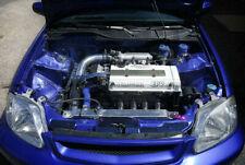 For Honda Civic Carbon Fiber Radiator Cooling Slam Panel Glossy Kits