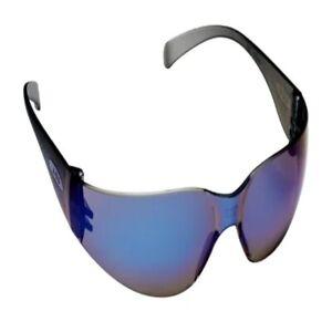 3M 11331-00000-20 Virtua Protective Eyewear Blue Mirror HC Lens Gray Frame
