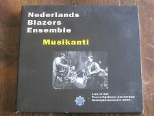 "Nederlands Blazers Ensemble ""Musikanti"" 2xCD (Live in Amsterdam 1999)"