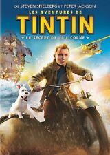 Tintin Le secret de la licorne DVD NEUF SOUS BLISTER