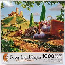 CEACO® 1000pc FOOD LANDSCAPES • TUSCAN LANDSCAPE • PUZZLE JigSaw 1000 PIECE USA