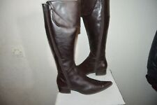 BOTTES HAUTE  CUIR  KARSTON  TAILLE 37 LEATHER BOOTS/BOTAS/STIVALI BE