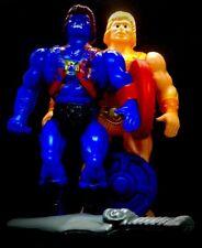 UBER RARE MOTU HE-MAN FAKER JUMBO HUGE BLOWN PLASTIC BOOTLEG KNOCKOFF FIGURES