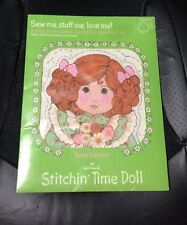 Vtg Hallmark Learn To Sew Stitchin Time Doll New Childrens Corner