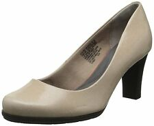Rockport Women's Total Motion 75mm Dress Pump,Warm Taupe Foil,8 N US