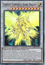 3 X YU-GI-OH CARD: STARDUST CHRONICLE SPARK DRAGON - SUPER RARE - CIBR-ENSE1