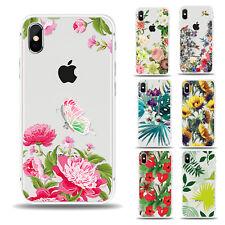 Blumen Silikon Schutzhülle für Samsung Huawei Handycase Handy hülle Handytasche