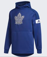 Men's Adidas Royal Blue Toronto Maple Leafs Hockey Pullover Hooded Sweatshirt