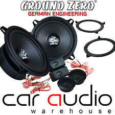 BMW 3 Series E46 Ground Zero 280 W Max 13cm Component Front Door Car Speaker Kit