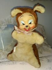 Vintage Rubber Face Squirrell Columbia Toy Products Tagged Plush 11