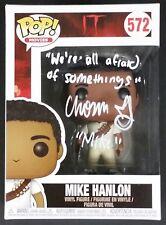 CHOSEN JACOBS SIGNED IT MIKE HANLON FUNKO POP FIGURE W/COA + PROOF
