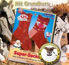 Anleitung: 125 Socken selber stricken (Rustikal, Folklore,Trachten, Landhaus uvm