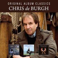 CHRIS DE BURGH - ORIGINAL ALBUM CLASSICS  3 CD NEUF