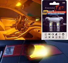 LED 3030 Light Orange Amber 168 Two Bulbs Rear Side Marker Parking Stock Lamp