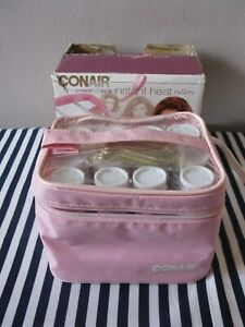 Conair Instant Heat Compact Hot Rollers -- The Power of Pink -- New Open Box
