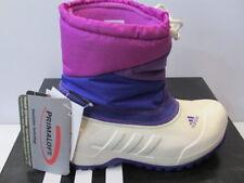 UK SIZE KIDS 2.5 - ADIDAS WINTERFUN GIRL PRIMALOFT CLIMAWARM GIRLS BOOTS