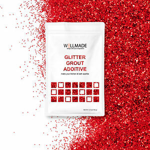 Wellmade Glitter Grout Additives For Wall Floor Tile Mosaic 5.3o/150g Bathroom