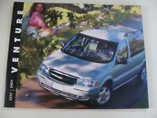 2003 Chevrolet Venture  Dealers Advertising Sales Brochure Chevy NOS