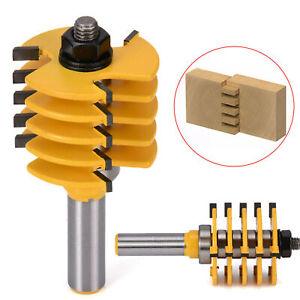 Reversible 1/2'' Shank Finger Glue Joint Router Bit Cutter Wood Milling Bit