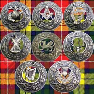 New Scottish Kilt Fly Plaid Brooch Various Antique Highland Celtic Pin Brooches