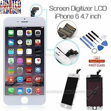 """For iPhone 6 4.7"""" LCD Display Touch screen Digitizer Assembly Replacement White"""