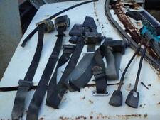 FORD xc black seat belts  fit xa xb  falcon fairlane gt sedan ltd p5 p6