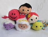 Mini Tsum Tsum Plush The Little Mermaid SEBASTIAN Crab Shrimp Screen Wipe New