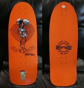 NOS Zorlac Big Boys Reissue Skateboard - Orange #2 - Circa 2005-2007 see details
