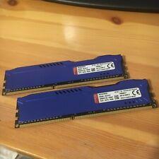 Kingston HyperX Fury DDR3 1600 8gb (2x4gb)hx316c10fbk2/8
