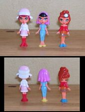 Lot de 3 Figurines Kinder Filles serie TR