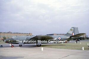 RAF 31 Squadron English Electric Canberra PR.7 WT507 (1964) Photograph