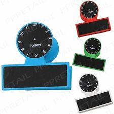 4x CLOCK BLACKBOARD PEGS Chalk Board Photo Memo Note Clips Wedding Tag Placehold