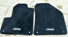 Jeep Cherokee Premium Carpet Floor Car Mats, Mopar 49212D Black