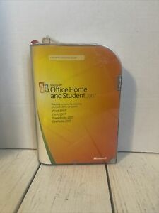 Microsoft MS Office Home and Student 2007 for 3 PCs Windows Vista