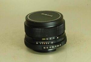 Helios-81n MC 2/50mm Lens for SLR Nikon Kiev #8403106