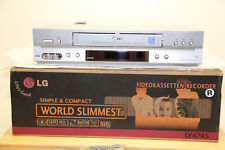 LG lv4745 high-end VHS Player/videoregistratore 6 Head espositori! W. NUOVO con OVP