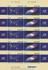 EUROPA CEPT 2009 ASTRONOMIE SPACE - ESTLAND ESTONIA 637-38 KLEINBOGEN **