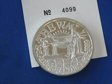 1989 Breaking Through The Berlin Wall Silver Medallion B0706